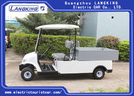 Popular 48 Volts Utility Electric Car , Beverage Golf Cart With Led Lights