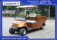 48V 2 Seater Farm Electric Utility Vehicle With Basket And Cargo Van