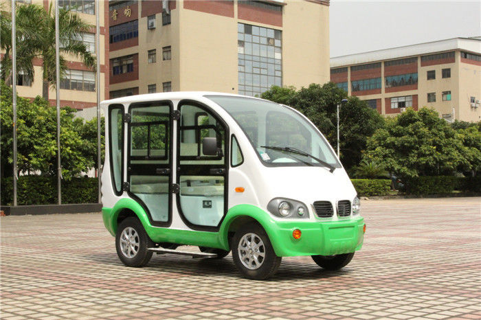 Hotel 4 Seater Electric Patrol Car 48 Volt Golf Cart With Doors Model Y045