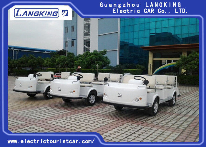Airport Electric Ambulance Car , 4 Seater Electric Car  One Bed Without Roof