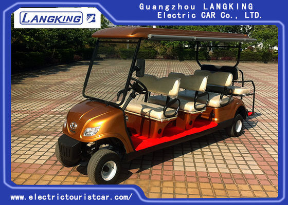 8 Passenge Electric Club Car Dla Hotel Reasort 80 km Range HS CODE 8703101900