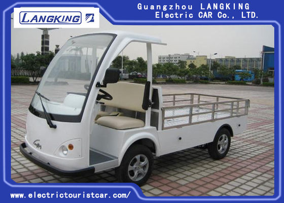 28km / H CE CertificateTwo Seater Electric Car, Electric Hotel Buggy Car With Cargo
