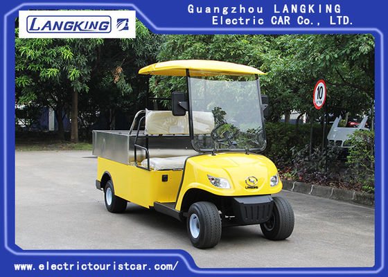 Dostosowane Cargo Box Electric Delivery Van, 2 Seater Utility Electric Car Used Hotel